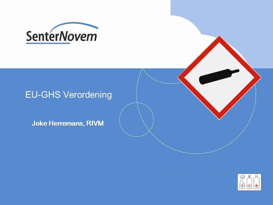 EU-GHS Verordening Joke Herremans, RIVM