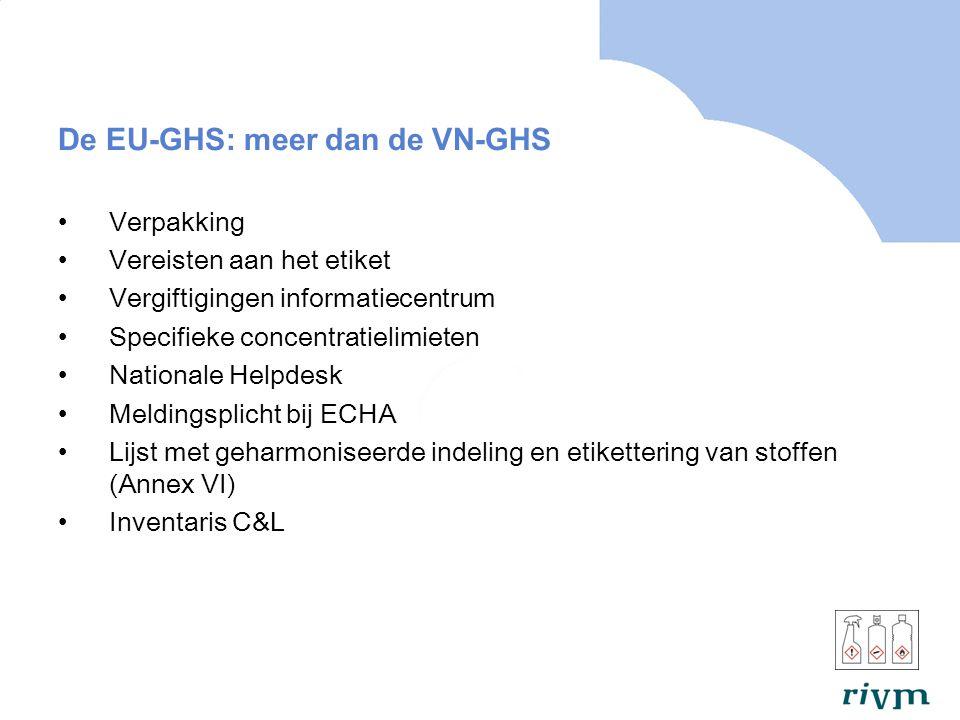 De EU-GHS: meer dan de VN-GHS