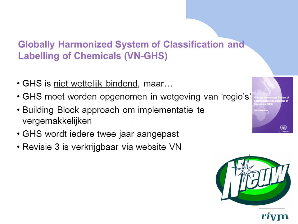Globally Harmonized System of Classification and Labelling of Chemicals (VN-GHS)