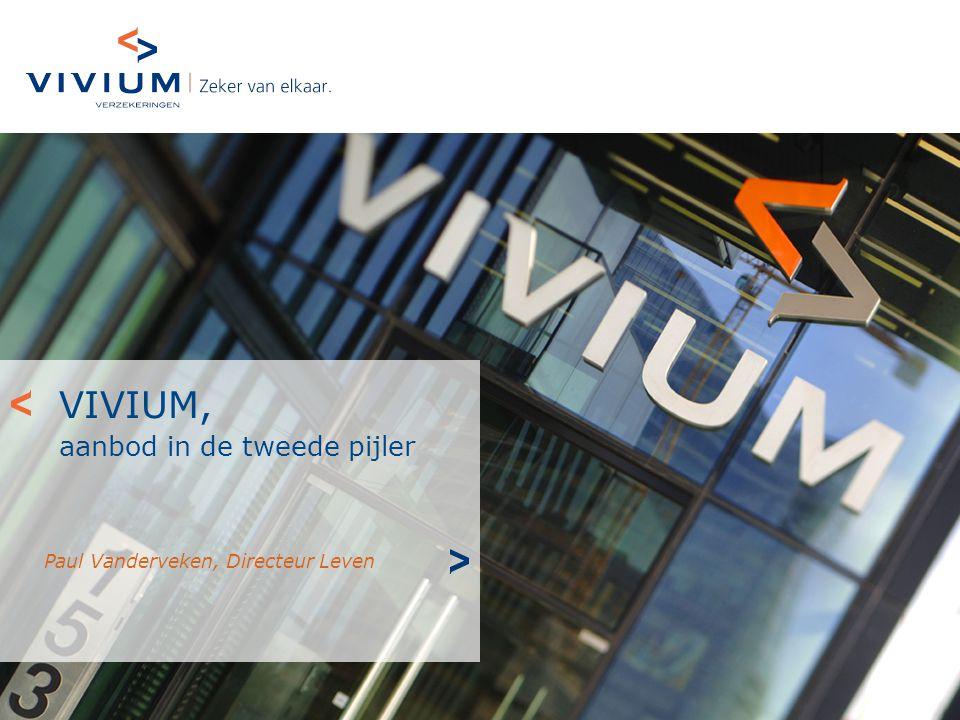 VIVIUM, aanbod in de tweede pijler