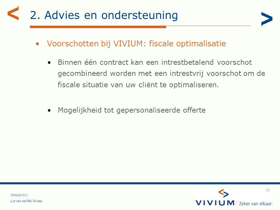 2. Advies en ondersteuning