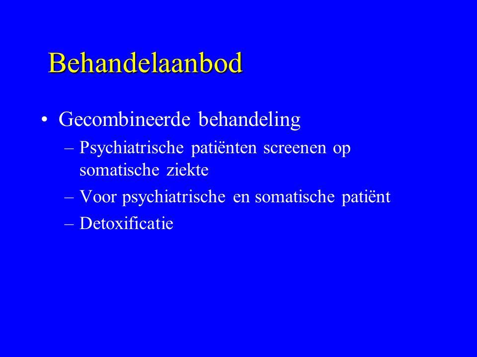 Behandelaanbod Gecombineerde behandeling
