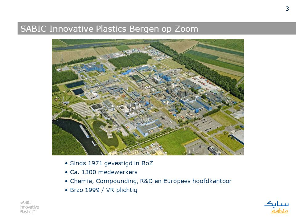 SABIC Innovative Plastics Bergen op Zoom
