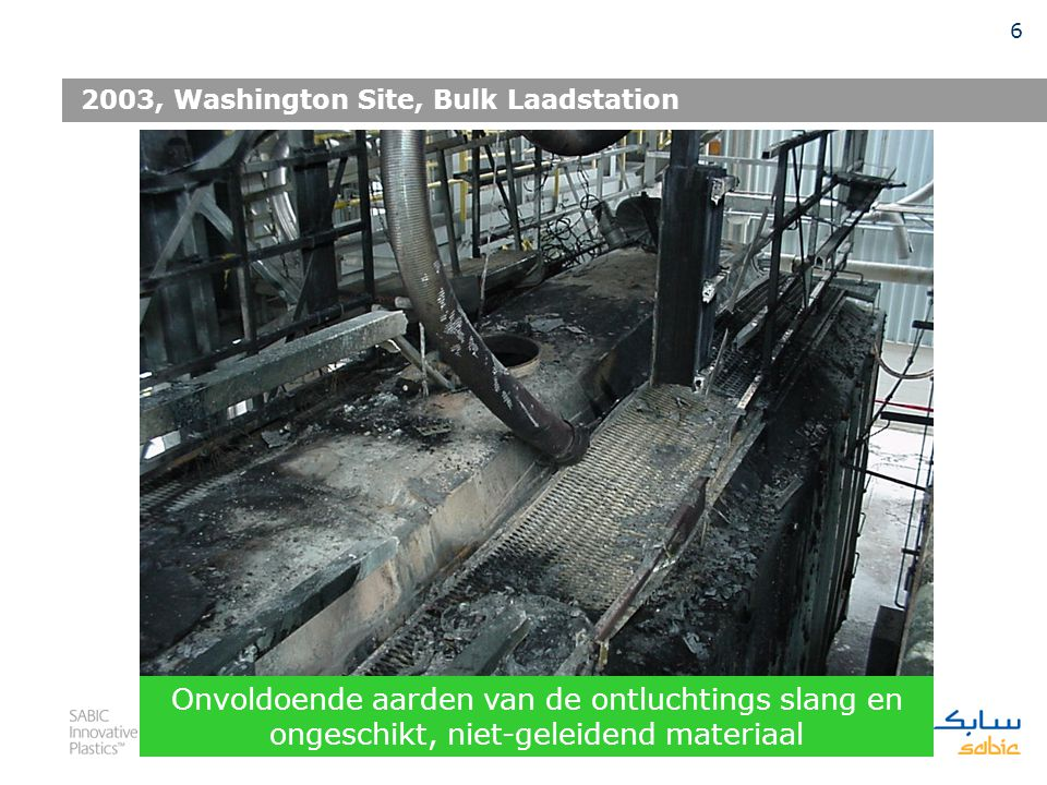 2003, Washington Site, Bulk Laadstation