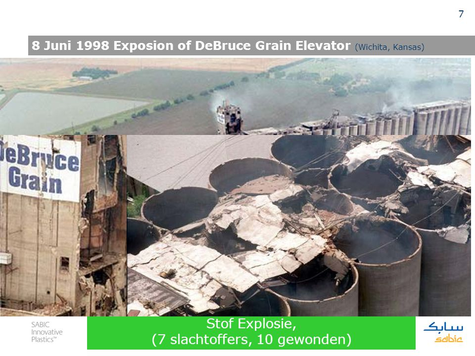 8 Juni 1998 Exposion of DeBruce Grain Elevator (Wichita, Kansas)
