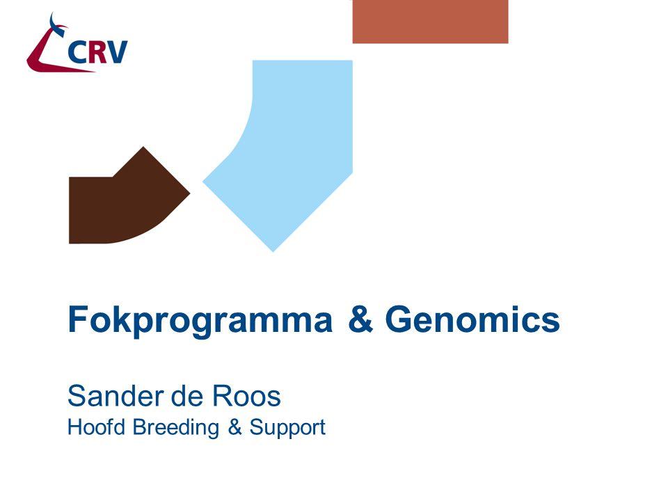 Fokprogramma & Genomics