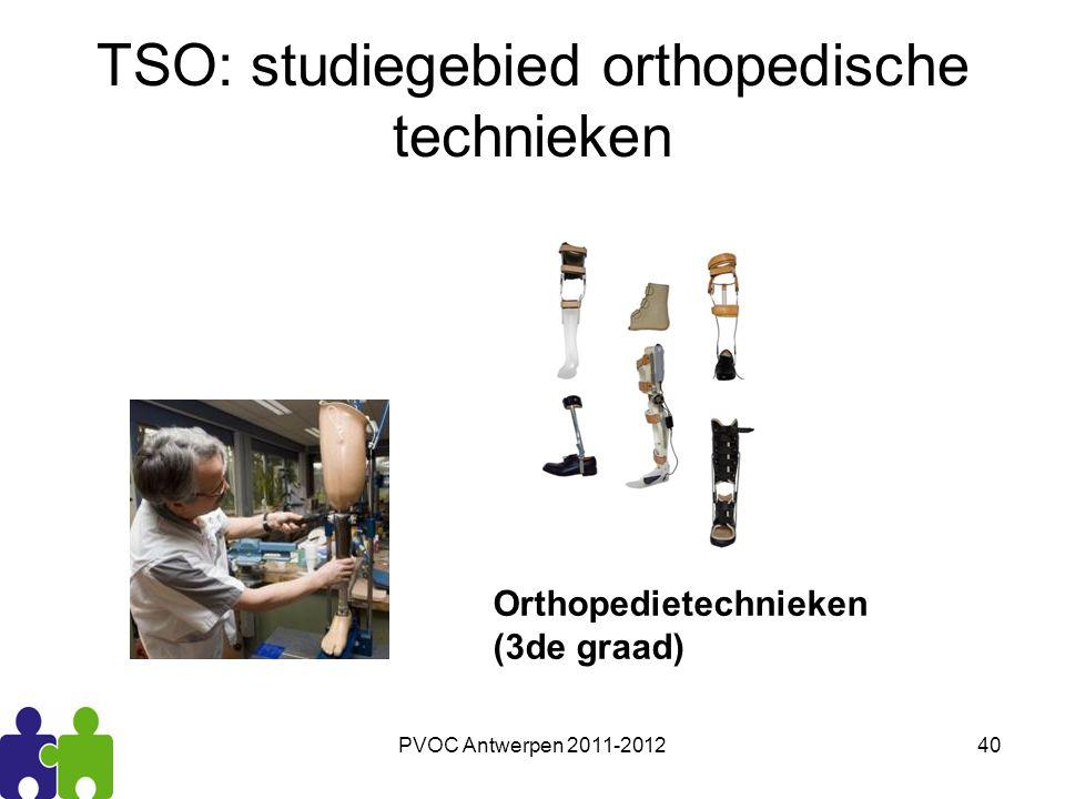 TSO: studiegebied orthopedische technieken