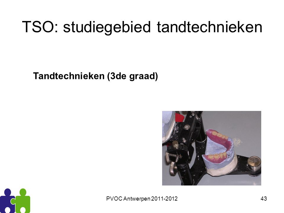 TSO: studiegebied tandtechnieken