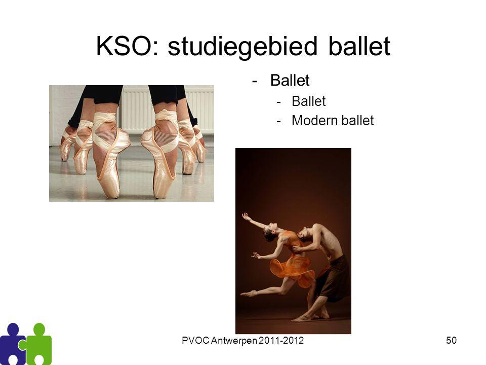 KSO: studiegebied ballet