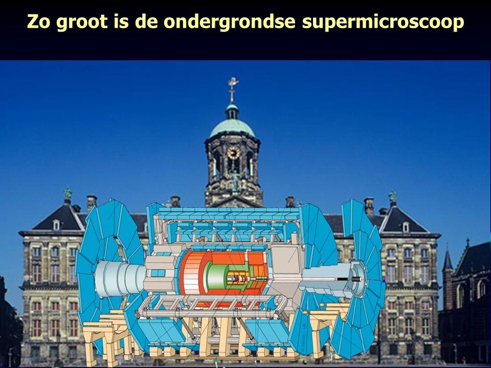 Zo groot is de ondergrondse supermicroscoop