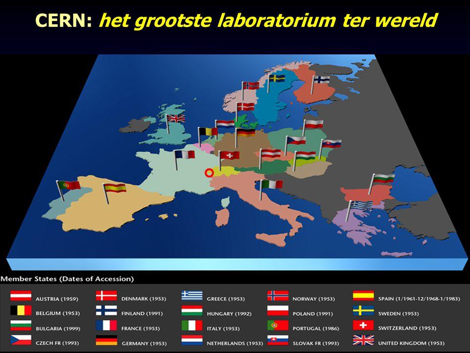 CERN: het grootste laboratorium ter wereld