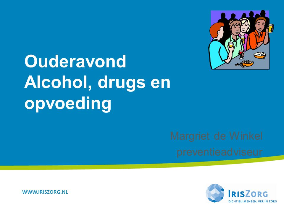 Ouderavond Alcohol, drugs en opvoeding