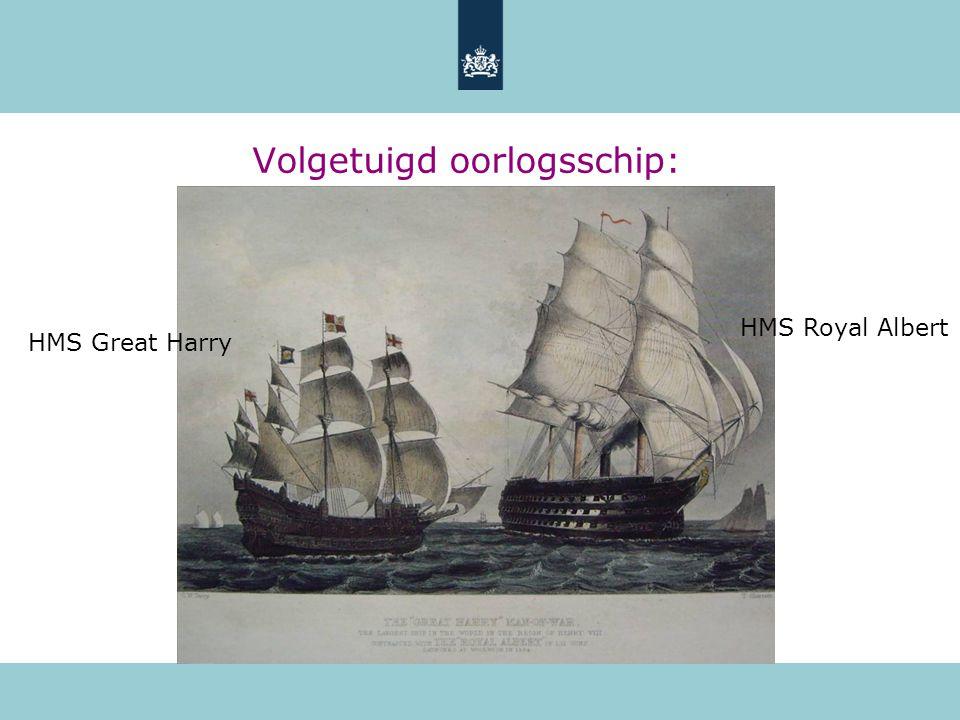 Volgetuigd oorlogsschip: