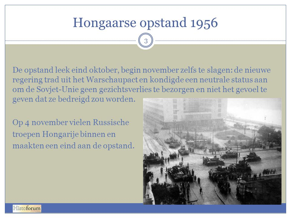 Hongaarse opstand 1956