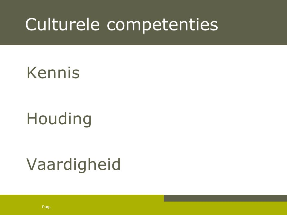 Culturele competenties
