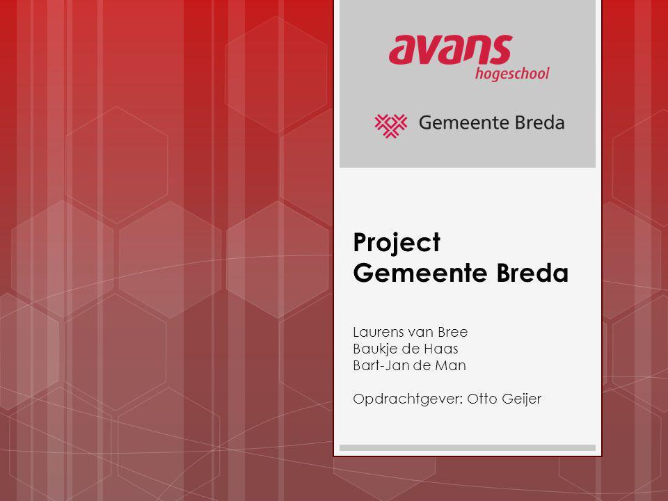 Project Gemeente Breda