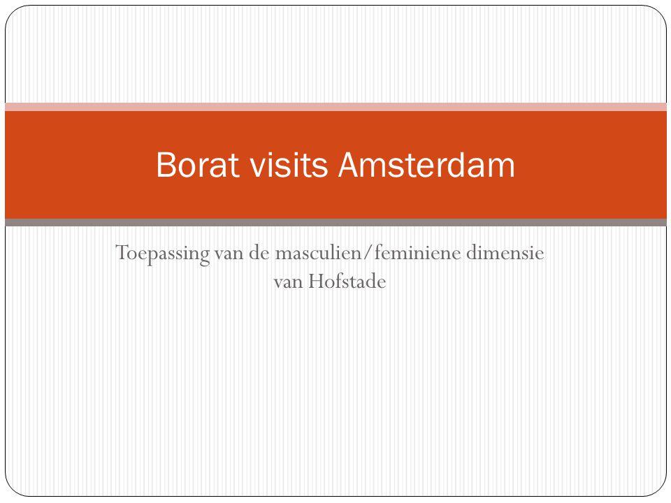 Borat visits Amsterdam