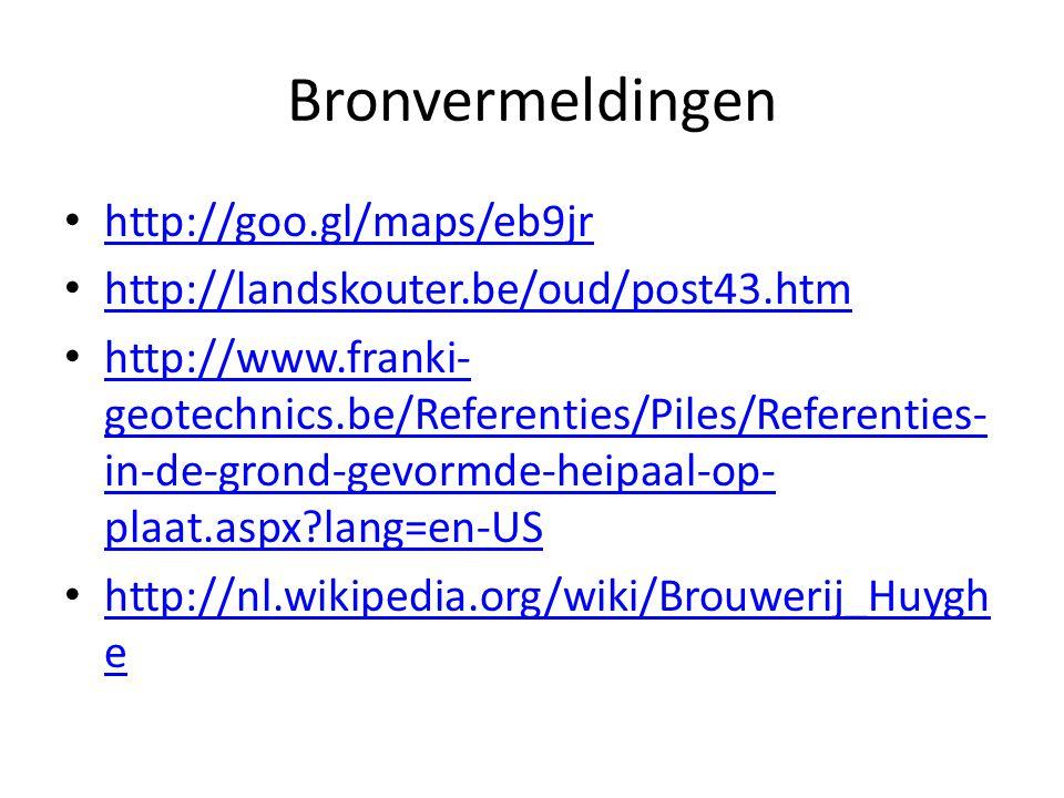 Bronvermeldingen http://goo.gl/maps/eb9jr