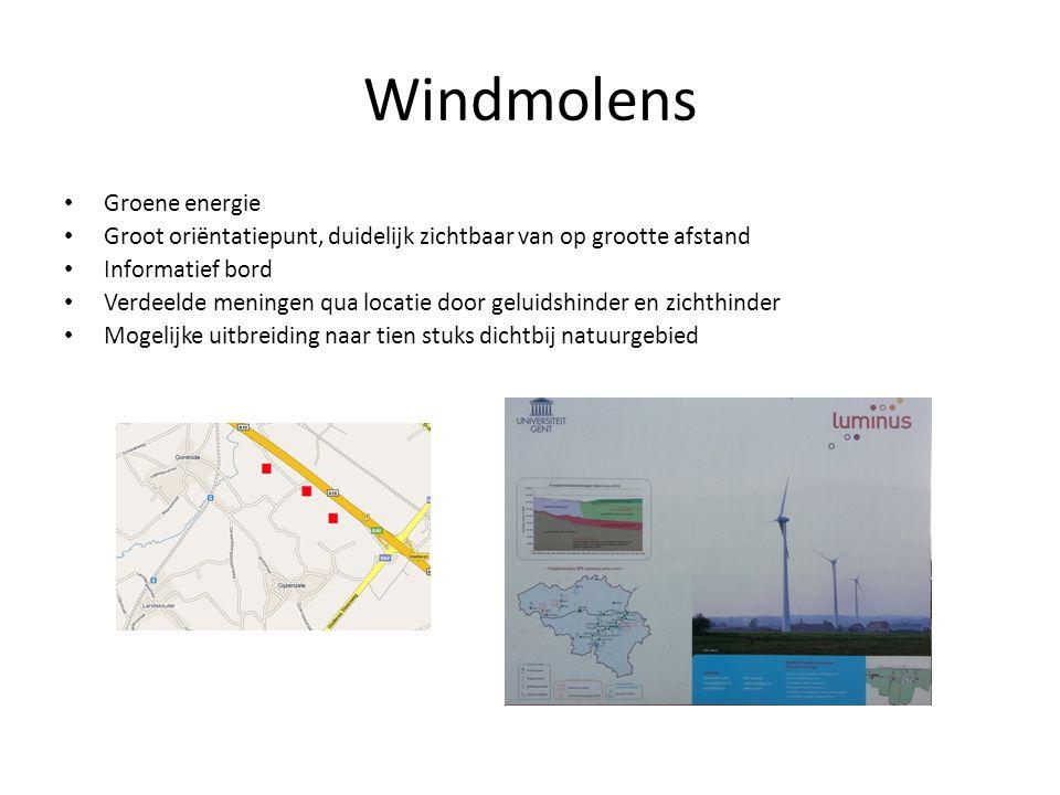 Windmolens Groene energie