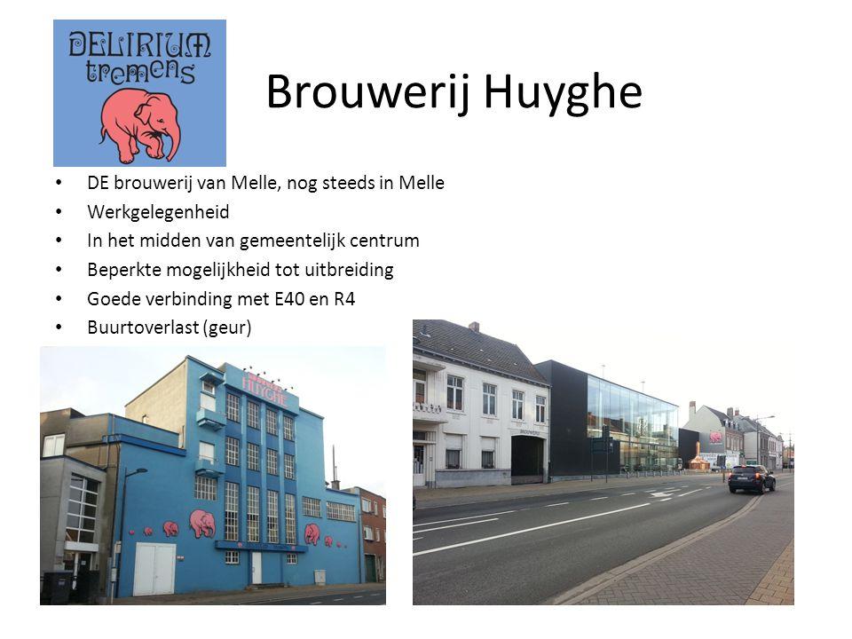 Brouwerij Huyghe DE brouwerij van Melle, nog steeds in Melle