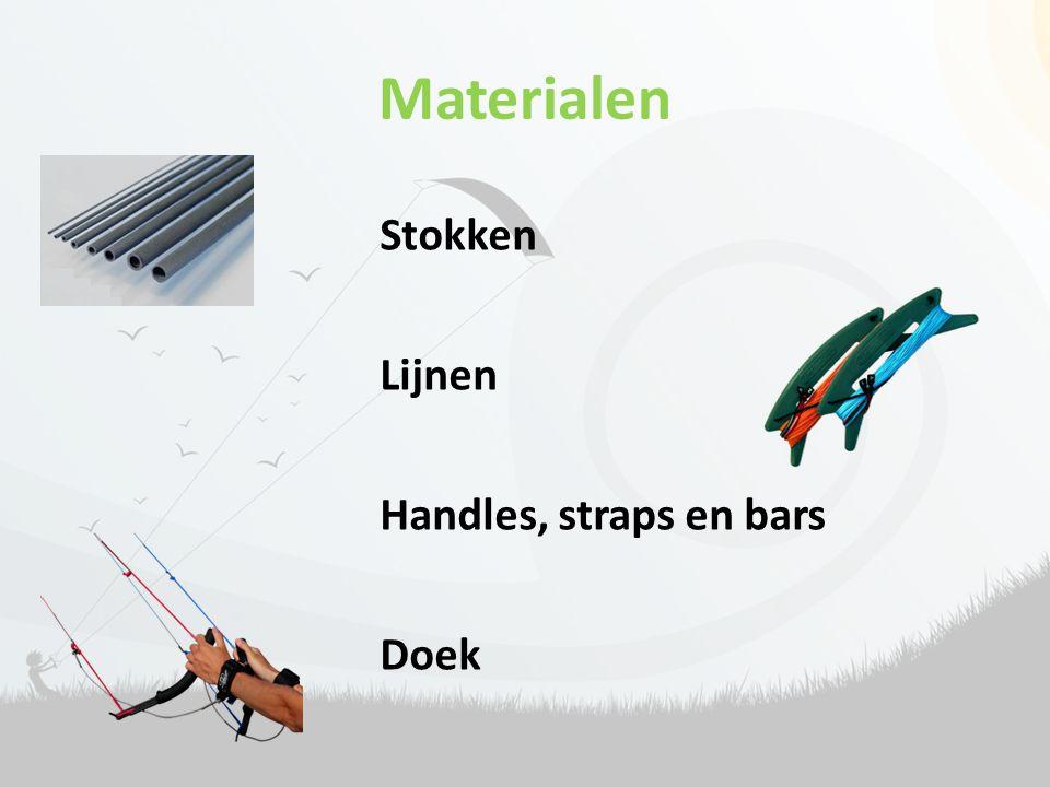 Materialen Stokken Lijnen Handles, straps en bars Doek