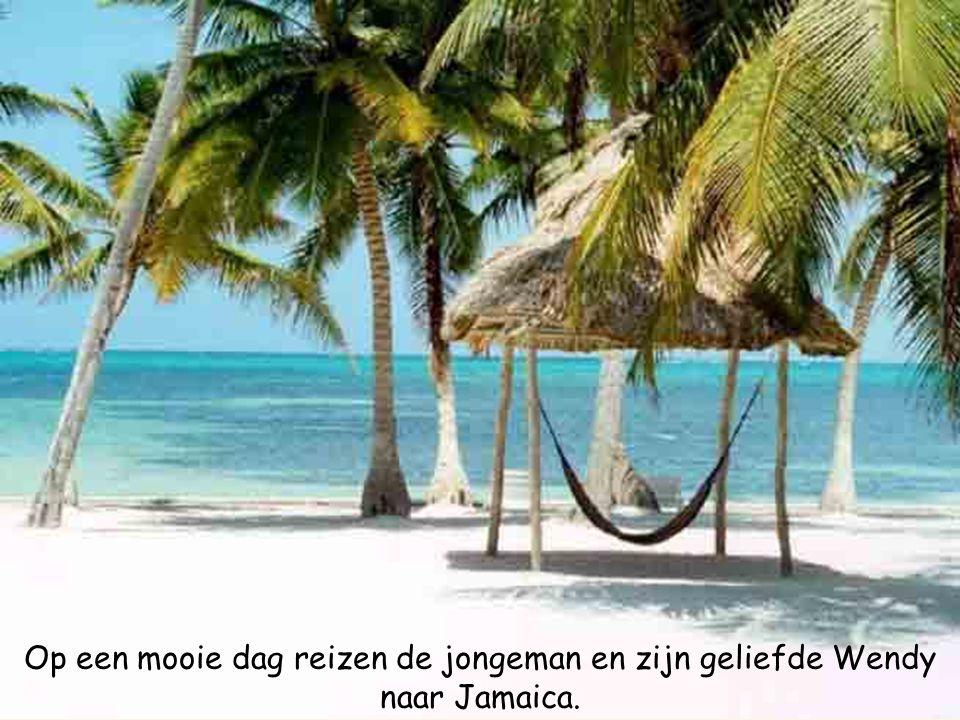 Op een mooie dag reizen de jongeman en zijn geliefde Wendy naar Jamaica.