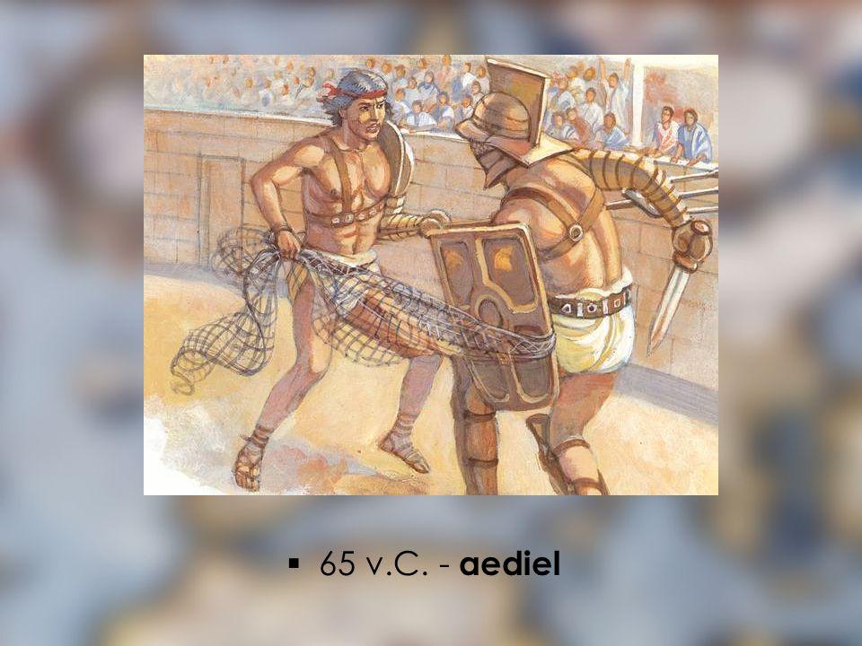 65 v.C. - aediel