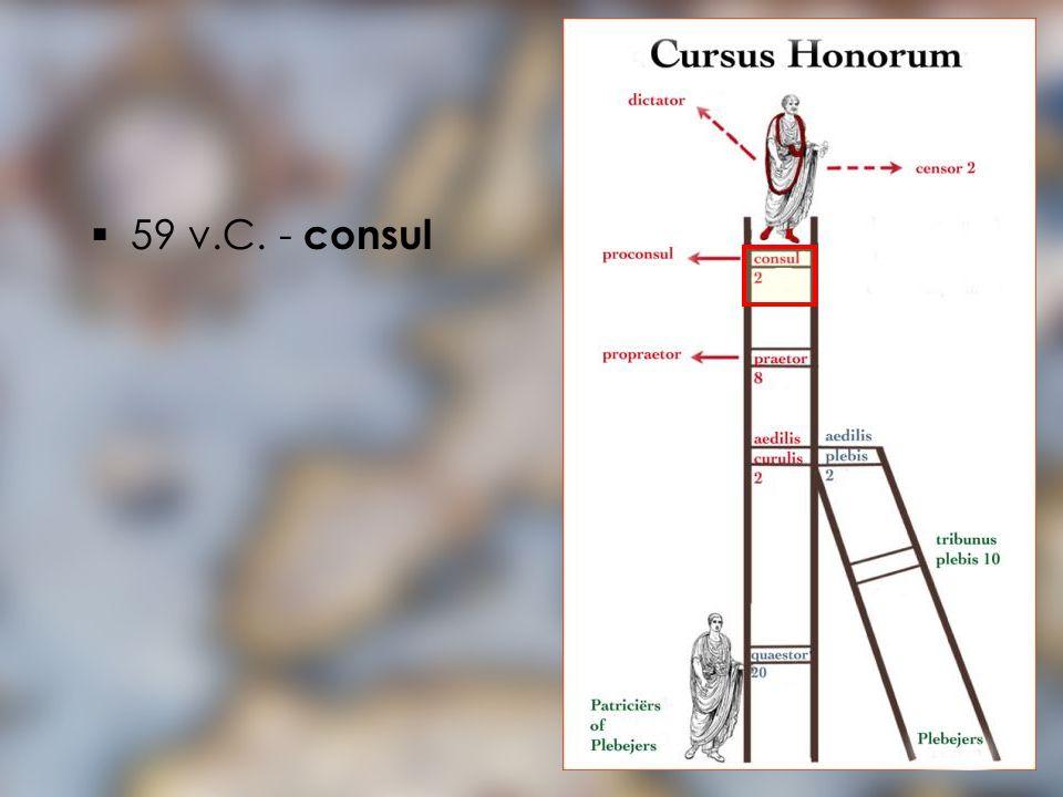 59 v.C. - consul