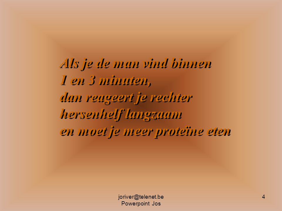 joriver@telenet.be Powerpoint Jos