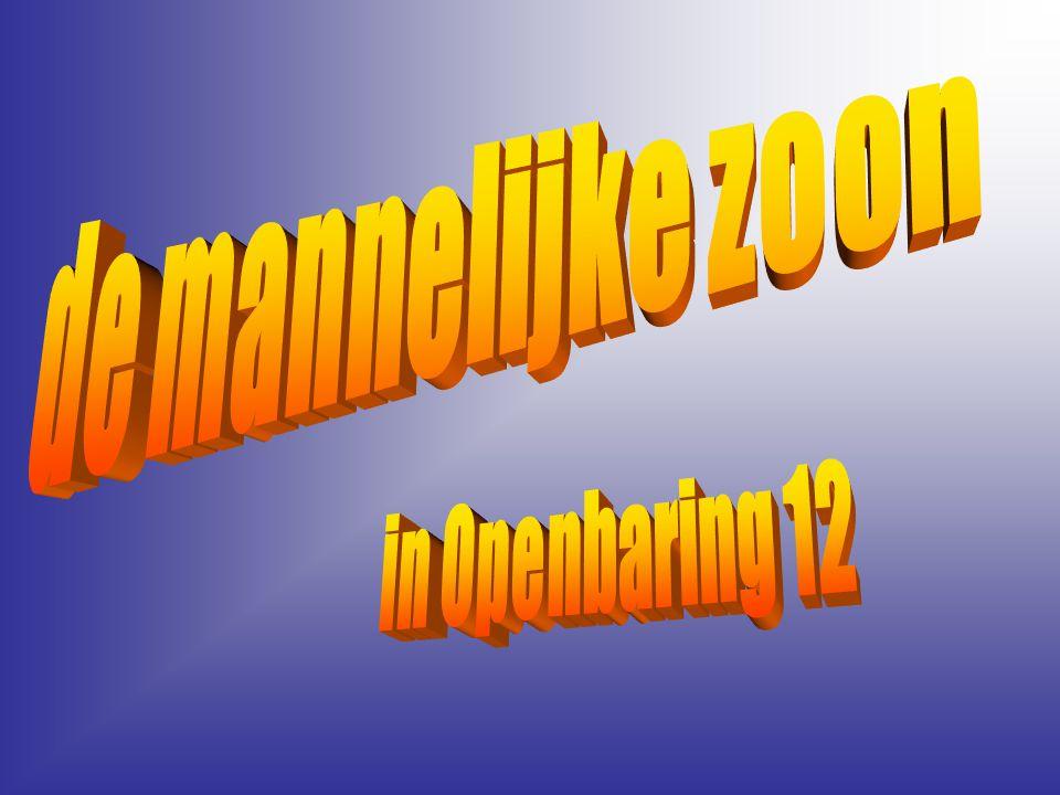 de mannelijke zoon in Openbaring 12