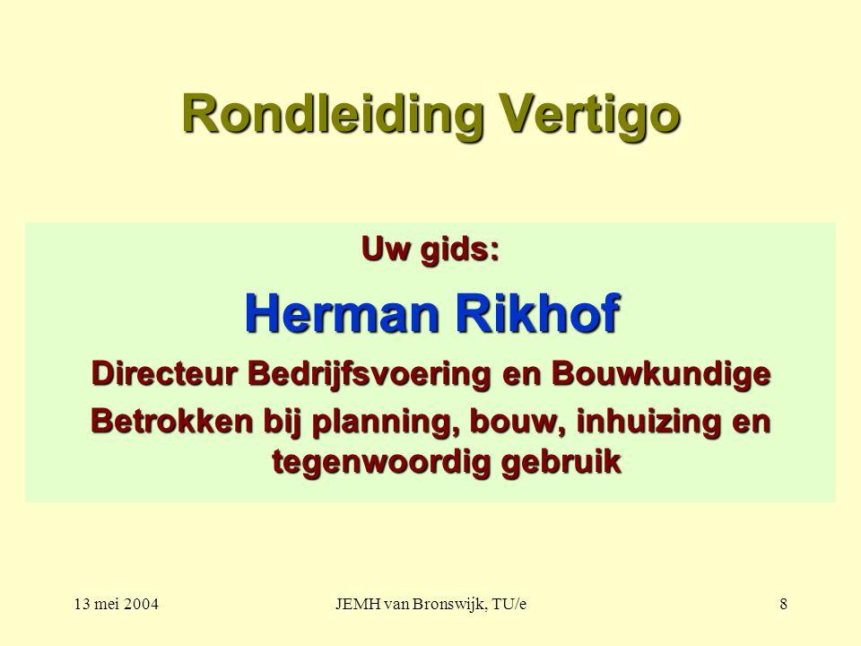 Rondleiding Vertigo Herman Rikhof