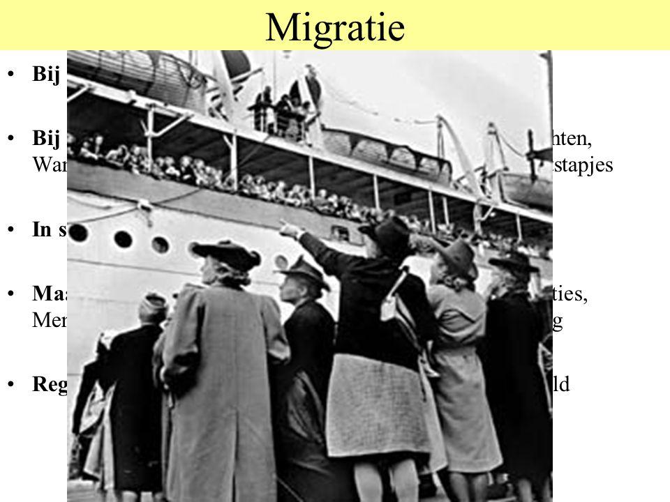 Migratie Bij dieren: Trek, Nomadisme