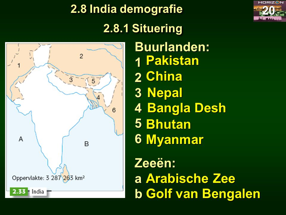 Pakistan China Nepal Bangla Desh Bhutan Myanmar Arabische Zee