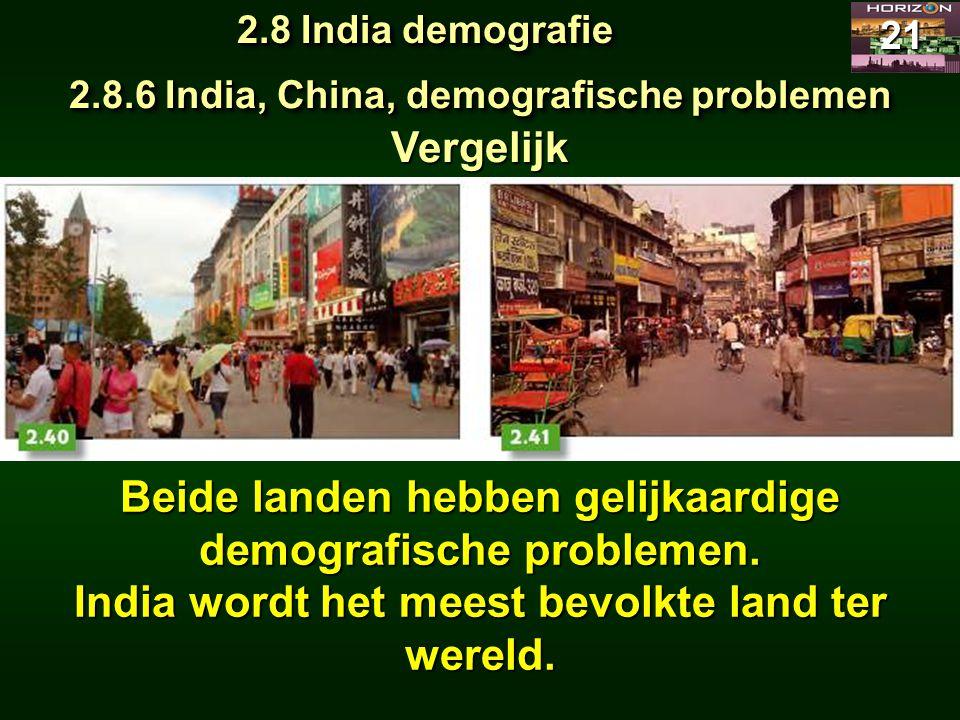 Beide landen hebben gelijkaardige demografische problemen.