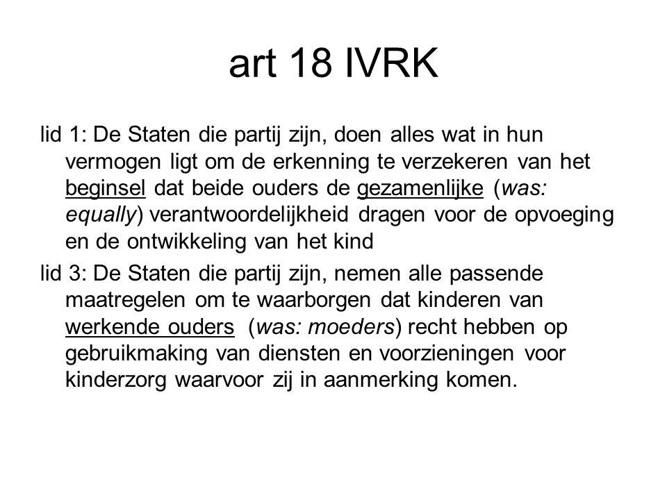 art 18 IVRK