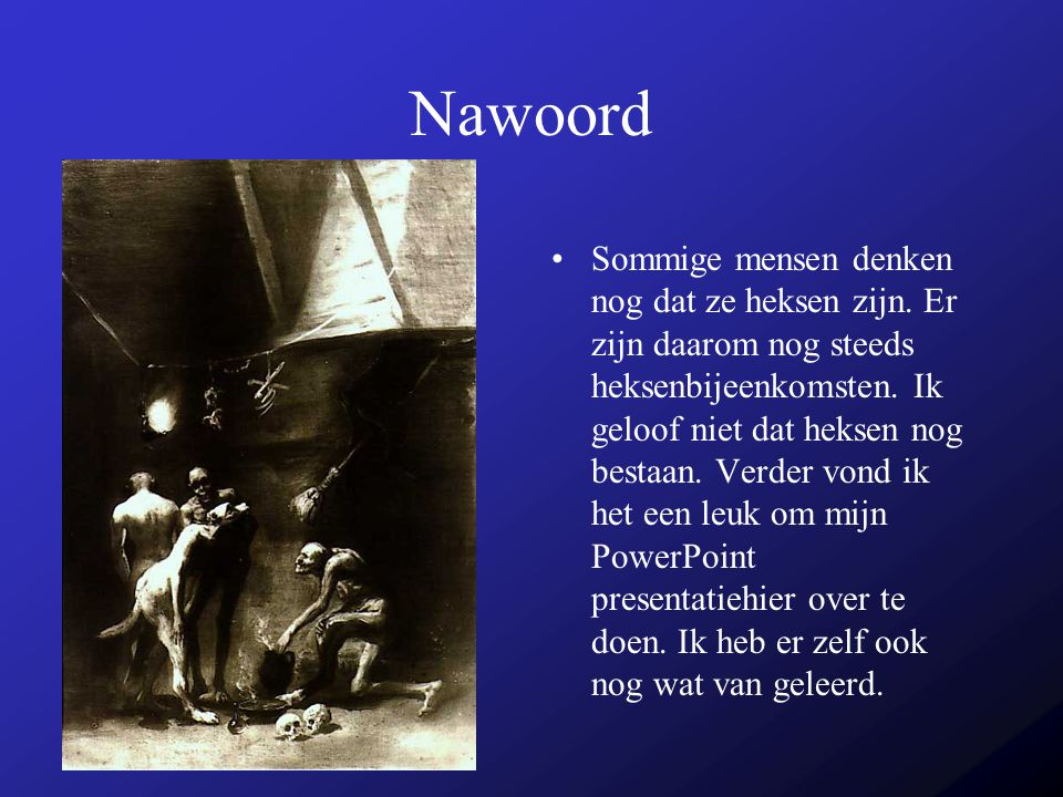 Nawoord