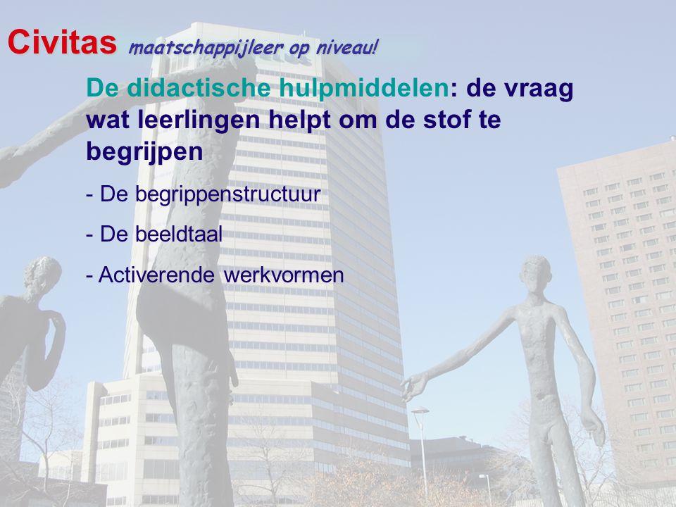 Civitas maatschappijleer op niveau!