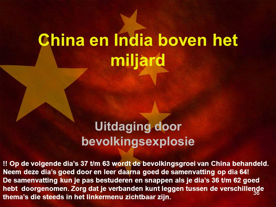 China en India boven het miljard