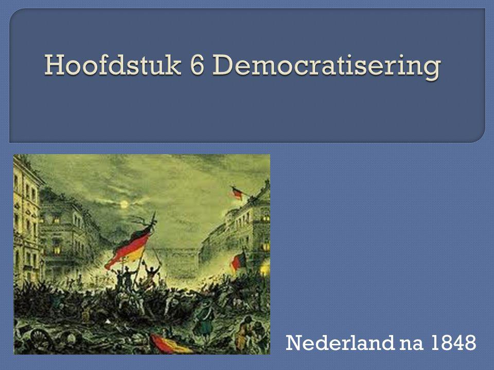 Hoofdstuk 6 Democratisering