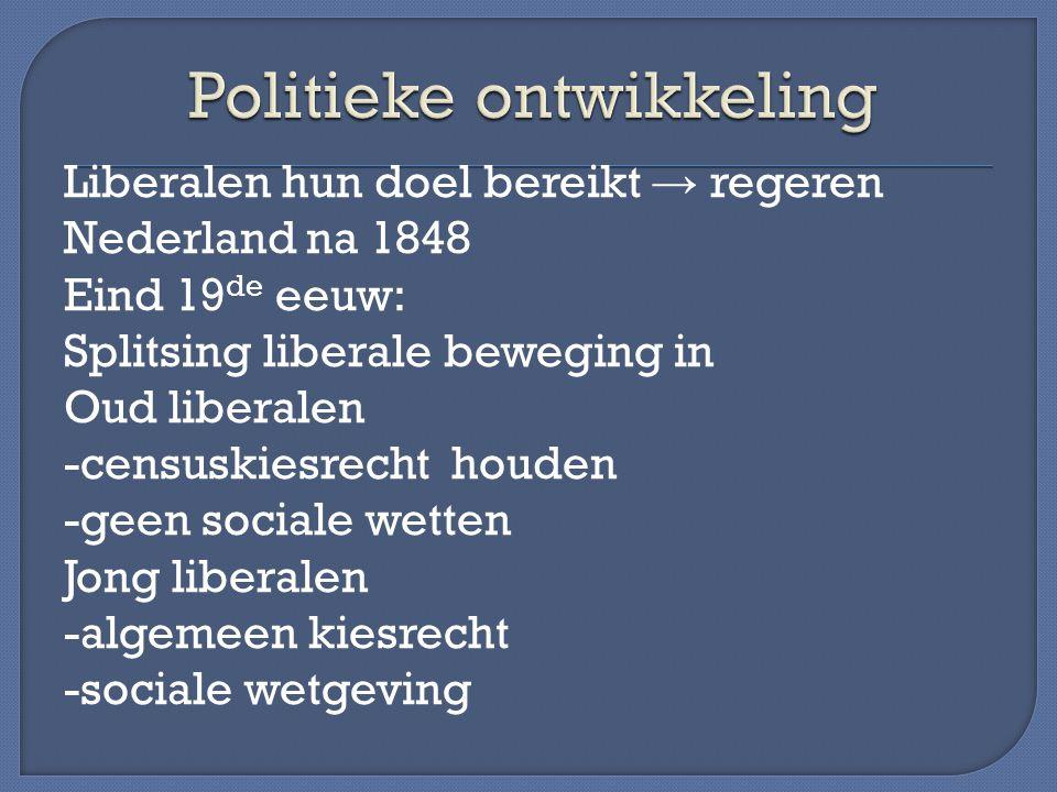 Politieke ontwikkeling