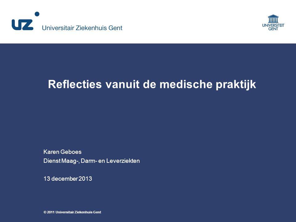 Reflecties vanuit de medische praktijk
