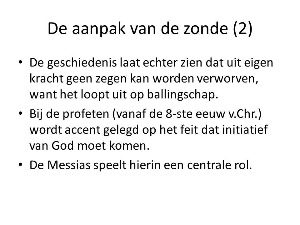 De aanpak van de zonde (2)