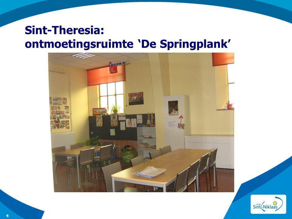 Sint-Theresia: ontmoetingsruimte 'De Springplank'