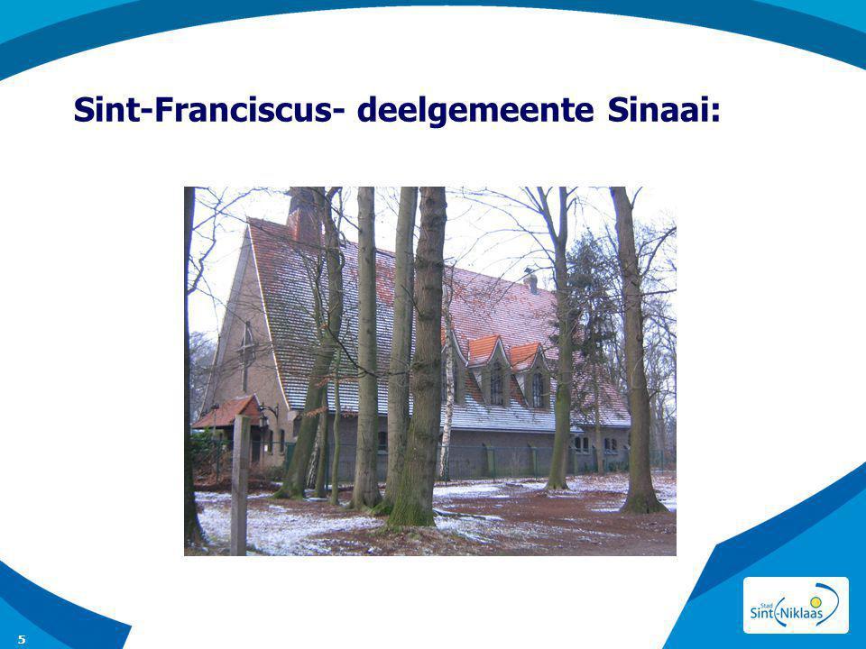 Sint-Franciscus- deelgemeente Sinaai: