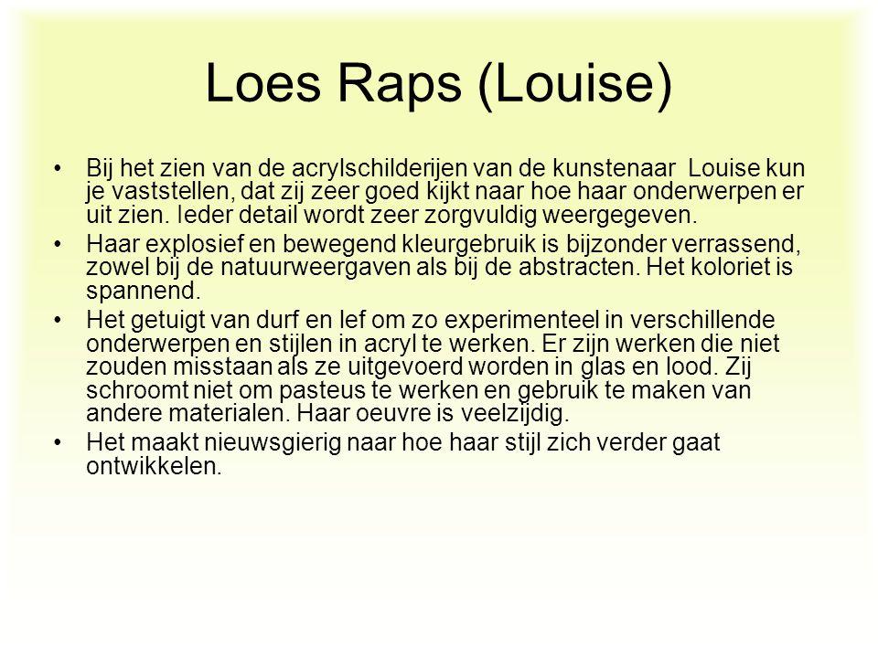 Loes Raps (Louise)