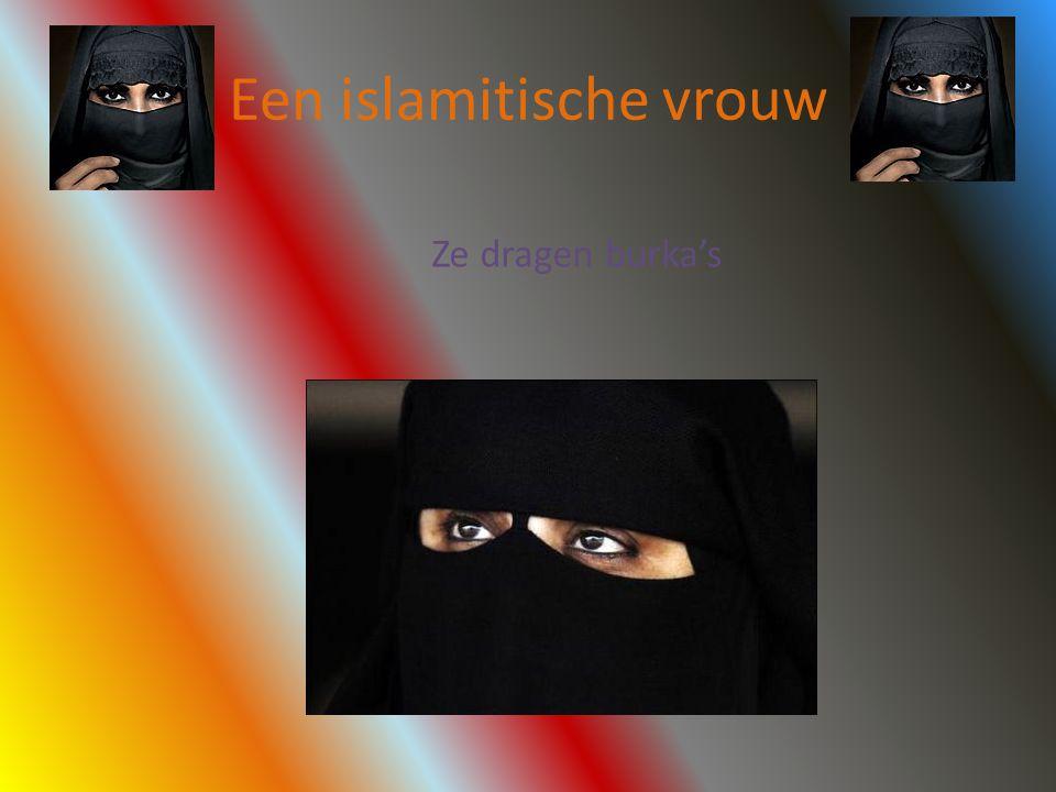 Een islamitische vrouw