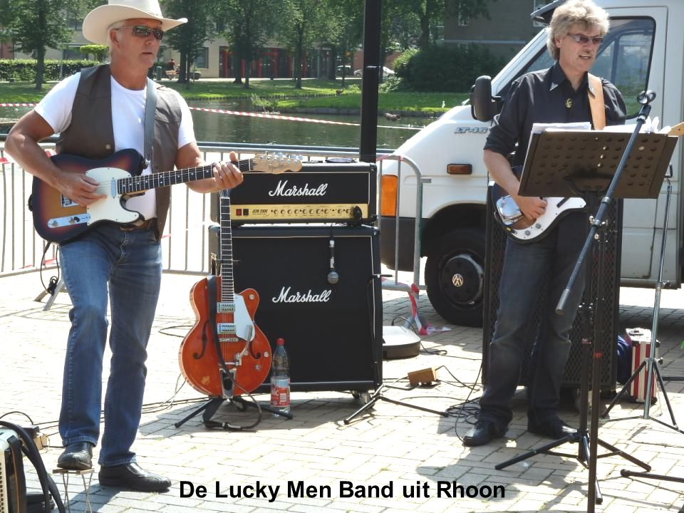 De Lucky Men Band uit Rhoon