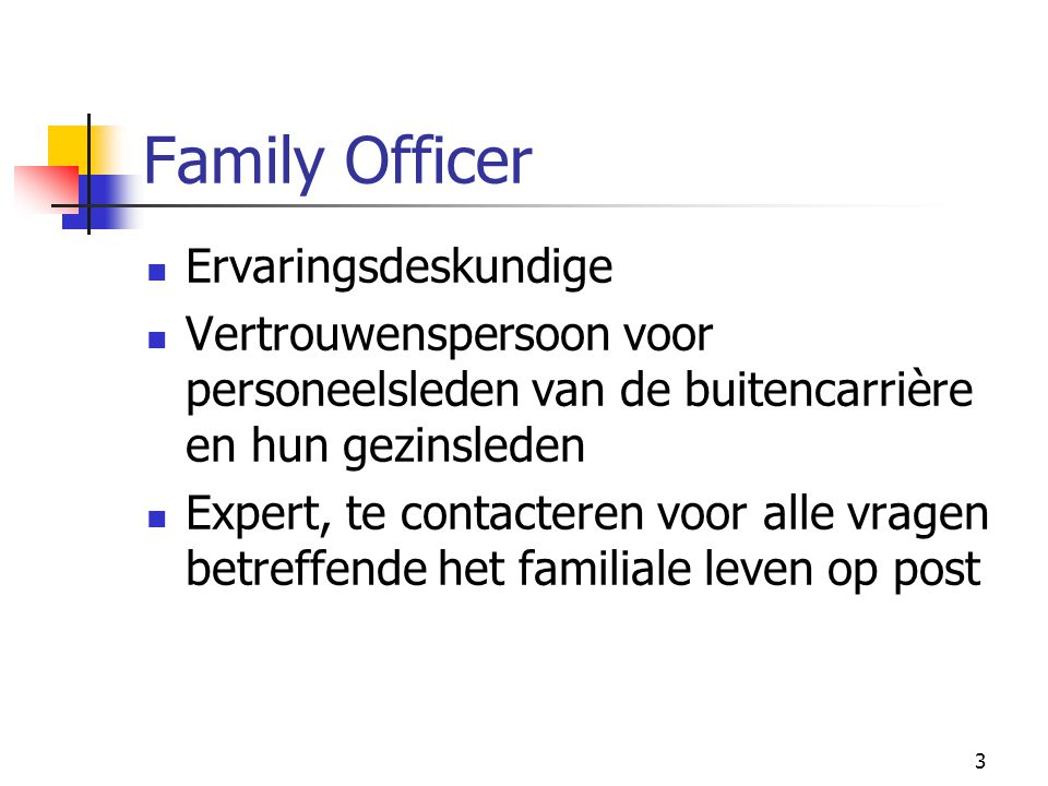 Family Officer Ervaringsdeskundige
