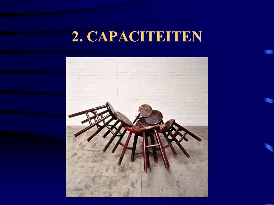 2. CAPACITEITEN