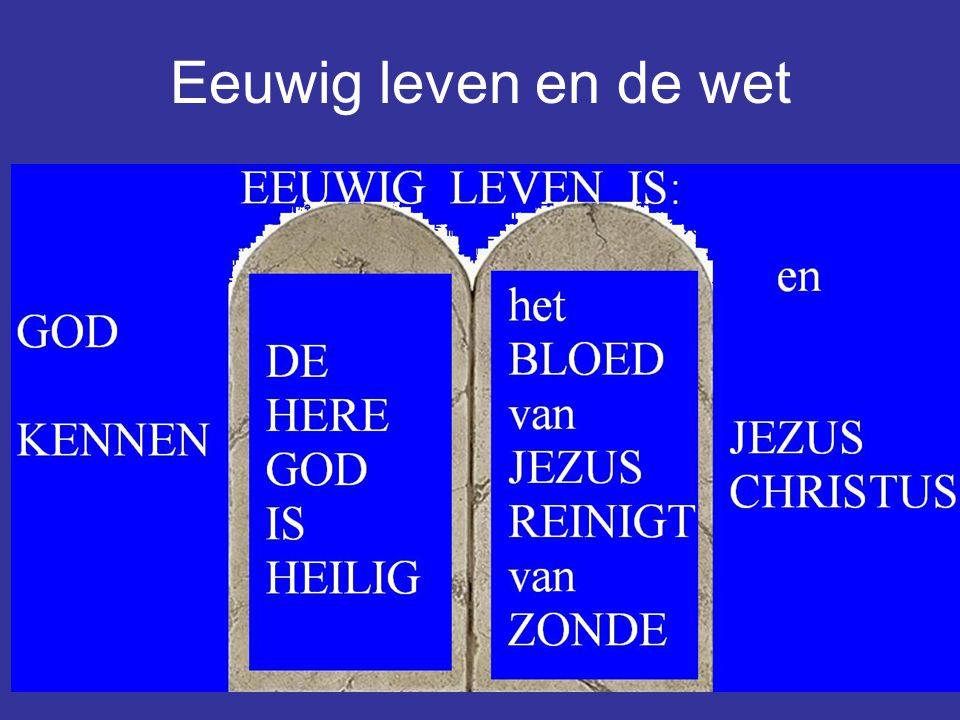 Eeuwig leven en de wet